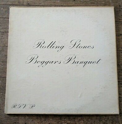 The Rolling Stones–Beggars Banquet LP 1968 London Records vinyl record