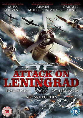 ATTACK ON LENINGRAD  Languages ENGLISH-RUSSIAN DVD WWII MOVIE
