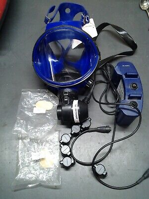 SURVIVRAIR Mask Model #420010 With Blower & battery pack