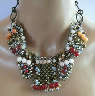 Kuychi Necklace by Pam Hiran ANTHROPOLOGIE  STATEMENT NECKLACE