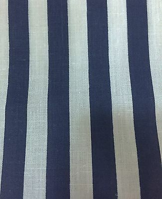 """50 YARD BOLT 1//2/"""" STRIPE STRIPED POLY COTTON FABRIC BY THE ROLL"""