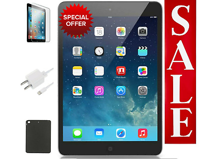 OPEN BOX Apple iPad Air Bundle | 16GB, Wi-Fi Only, Silver | Free Shipping!