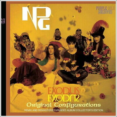Prince &The Npg Exodus Original Configurations (2Cd) Collector's Edition New F/S