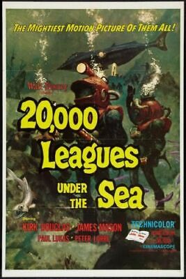 """20000 Leagues Under The Sea Poster 16""""x24"""""""