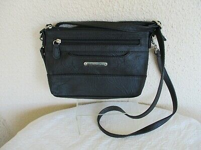 Stone Mountain Small Black ESSEX All in One Bagger Crossbody~Wristlet~Clutch