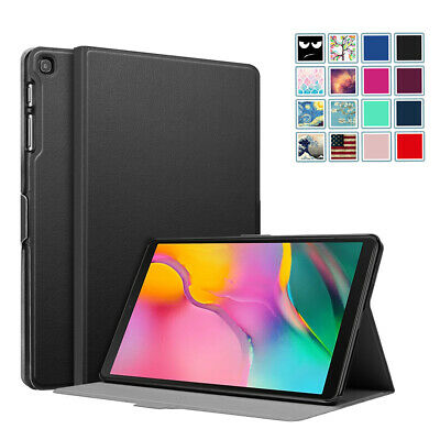 "For Samsung Galaxy Tab A 10.1"" 2019 SM-T510/T515 PU Leather Case Cover Stand"