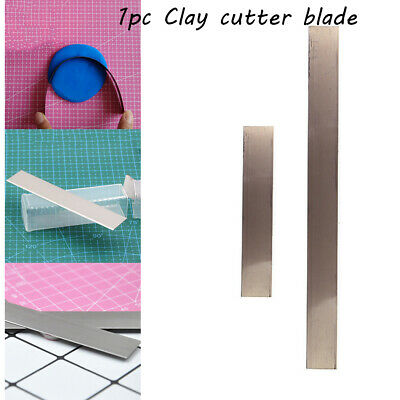 DIY Craft Modeling Fabric Stainless Steel Polymer Fimo Slicer Clay Cutter Blade