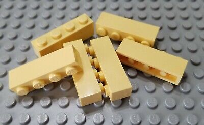 New LEGO Lot of 2 Yellow 1x4 Side Stud Bricks Specialty Parts and Pieces
