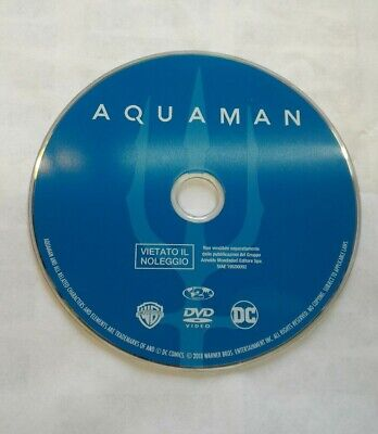 Aquaman DVD (senza custodia)