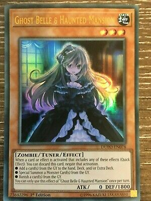 Yugioh - Ghost Belle & Haunted Mansion - DUPO-EN078 - Ultra Rare - 1st Ed