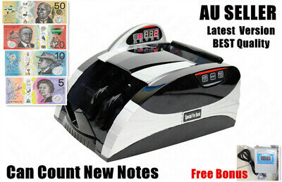 NEW Digital Australian Money Note Cash Counter Machine High Quality Accurate