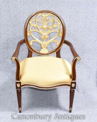 French Empire Arm Chair - Gilt Chairs