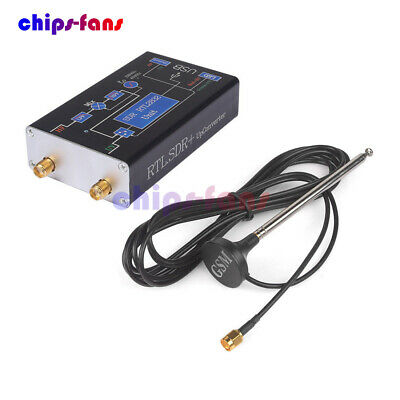 100KHz-1.7GHz Full Band UV HF RTL-SDR USB Tuner Receiver/ R820T+8232 Ham Radio