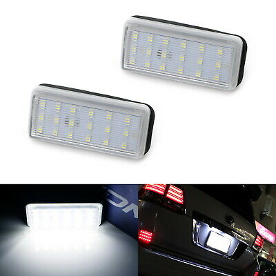 6000K LED License Plate Light Lamps For Lexus LX470 GX470 Toyota Land Cruiser