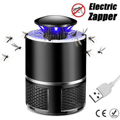 Mosquito Insect Killer Zapper Electric UV Light Fly Bug Pest Trap Inhaled Lamp