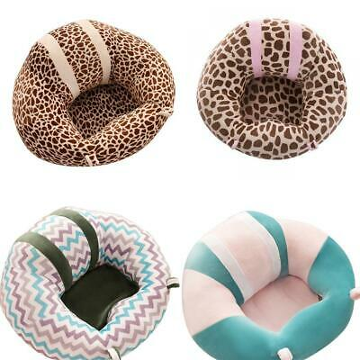 Soft Cute Print Baby Support Seat Sofa Baby Learning Chair Plush Toy LM 02