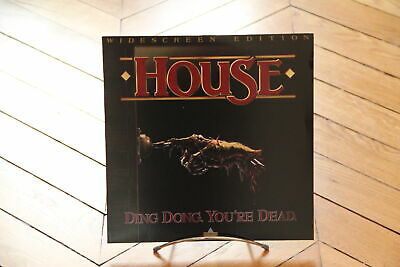 House Ding Dong. You're Dead. Laserdisc LD NTSC HORROR