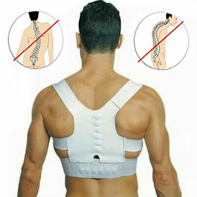 Back Posture Correction Shoulder Corrector Support Brace Belt Therapy Men Women