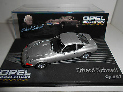 Opel Gt Schnell Opel Collection Eaglemoss Ixo 1:43
