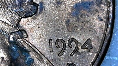1994 D 1C  Lincoln Cent Error