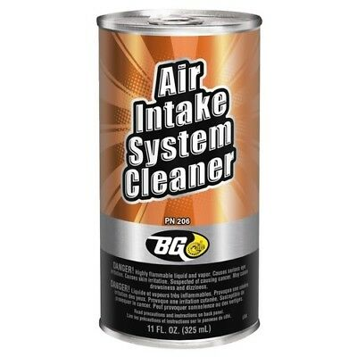 BG Air Intake System Cleaner 11oz Sealed Can P/N 206, rough idle, poor performan