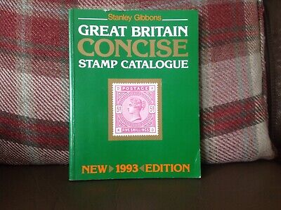 Stanley Gibbons 1993 GB Concise Stamp Catalogue