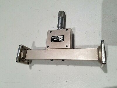Waveguide 180 degree WR90 Phase Shifter 8.2 to 10 GHz