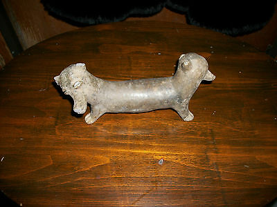Pre - Columbian Two Headed Dog ?  Figure - Estate Find - Must See!!