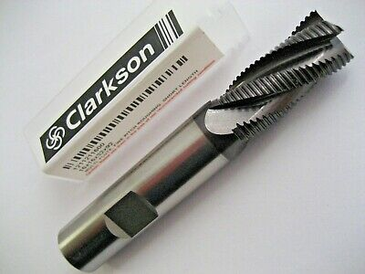 16mm HSSCo8 TiALN COATED RIPPER / RIPPA END MILL EUROPA CLARKSON 1211211600  60