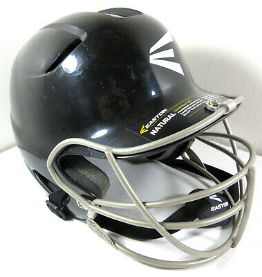 Easton Tee-Ball Natural Macizo Bateo Casco con Máscara Negro Tamaño 6-6 1/2