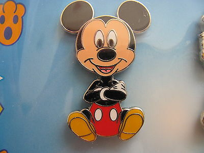 Disney Trading Pin 102837: Big Head Art Booster Set Mickey Only