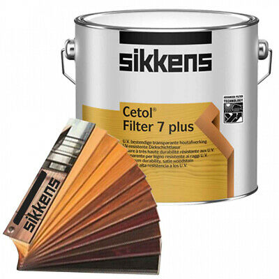 SIKKENS CETOL FILTER 7 PLUS TIMBER STAIN Oil Based, Weather