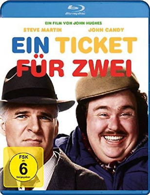 John Candy,Steve Martin-Ein Ticket Fur Zwei - (German Im (Uk Import) Blu-Ray New