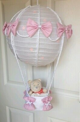 Hot air balloon light shade Winnie the pooh  looks stunning nursery xx