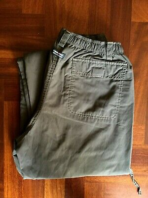 Pantalone think pink jeans pants trouser cargo militare verde young size 16 yrs