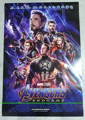 Avengers 4 ENDGAME ORIGINAL DS 27x40 POSTER 1sheet int'l double sided RARE new