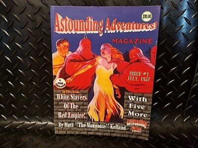 RPG Scenario Book for Astounding Tales,  Adventures Magazine Issue 1 1937