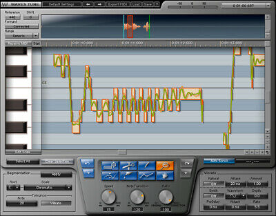Waves Tune Vocal Pitch Correction Auto-tune software plug-in plugin