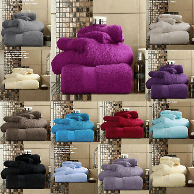 Luxury Towels with 100% Egyptian Cotton Extra Soft & Absorbency Miami  700GSM
