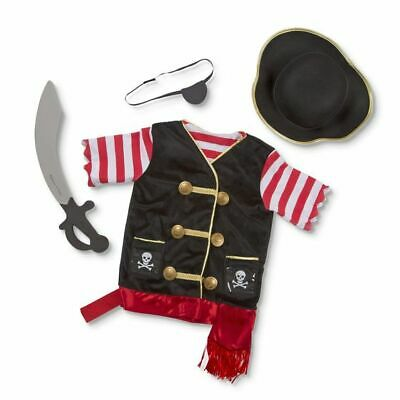 732843ccef24 Melissa and Doug 14848 - Pirate Costume Role Play Set - NEW!