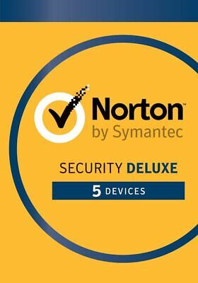 Norton Security Deluxe 2019 5 PCs / 5 Device 3 Years / 36 months Emailed Key EU