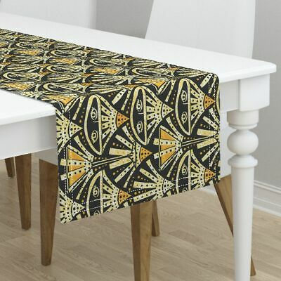 Table Runner Vintage Art Deco The Sidecar Retro Party Cocktail Art Cotton Sateen