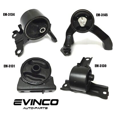 2007-2012 Dodge Caliber 2.0L 2.4L Engine Motor Mounts Set of 4