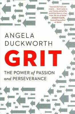 Grit : The Power of Passion and Perseverance, Paperback by Duckworth, Angela,...