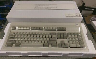 6925c06526e VINTAGE IBM 1390120 (15 Sept 1986) Model M Clicky Keyboard with original  boxes!