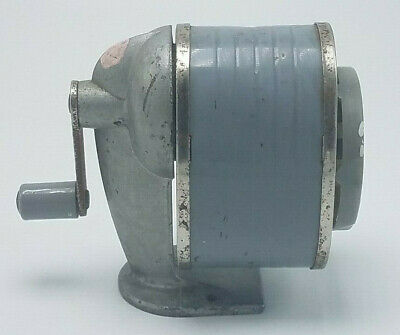 Vintage Apsco Giant Type Iii-A Table & Wall Mount Pencil Sharpener