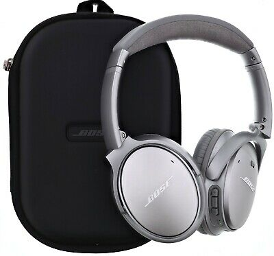 Bose QuietComfort 35 Series I Wireless Headphones Noise Cancelling Silver PART😢
