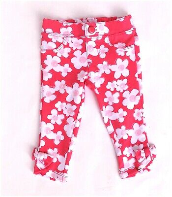 Beautiful Nwt 4t Gymboree Pink Pants Bows On Ankles Girls' Clothing (newborn-5t)