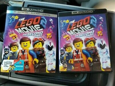 * LEGO MOVIE 2 Second Part * 2019 4K UHD and Blu Ray Discs ONLY