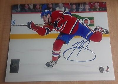 Brendan Gallagher Montreal Canadiens 8x10 Photo Signed Autograph Reprint
